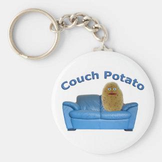 Couch Potato Keychain