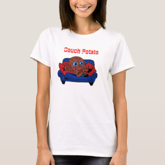 Couch Potato ladies shirt