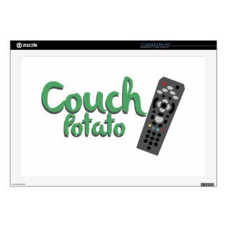 Couch Potato Laptop Skin