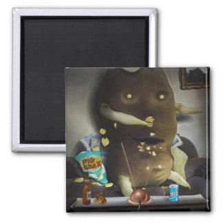 Couch Potato Magnet