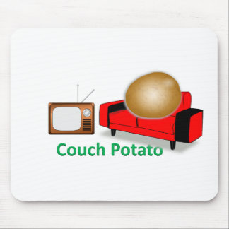 couch potato mouse pad