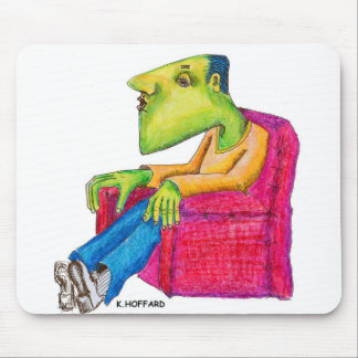 Couch Potato Mouse Pad