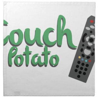 Couch Potato Napkin