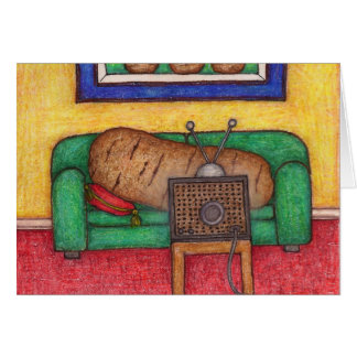 Couch Potato Note Cards