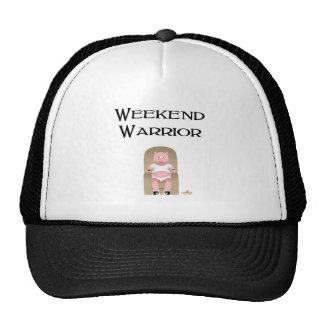 Couch Potato Pig Weekend Warrior Trucker Hats