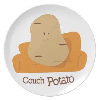 Couch Potato Dinner Plate