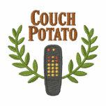 Couch Potatoe Embroidered Sweatshirts