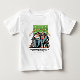 Couch Potatoes Concept Baby T-Shirt
