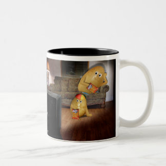 Couch Potatoes Father & Son Mug