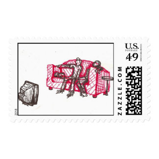 couch potatoes stamp
