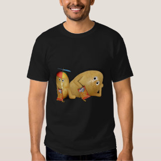 Couch Potatoes With Father Asleep on the Couch T-Shirt