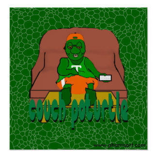 Couch Poturtle Poster