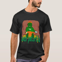 Couch Poturtle - Turtle Lounge T-Shirt (black)