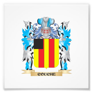 Couche Coat of Arms - Family Crest Photograph