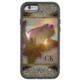 couché du soleil floral funda de iPhone 6 tough xtreme
