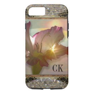 couché du soleil floral funda iPhone 7