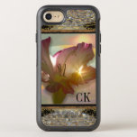 Couché Girly Floral Monogram Pretty Protection Otterbox Symmetry Iphone 8/7 Case at Zazzle