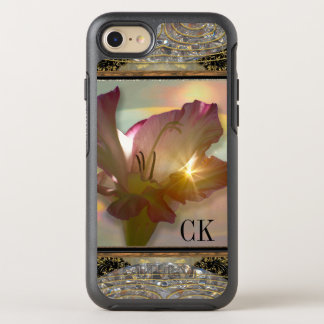 couché Girly Floral Monogram Pretty Protection OtterBox Symmetry iPhone 8/7 Case