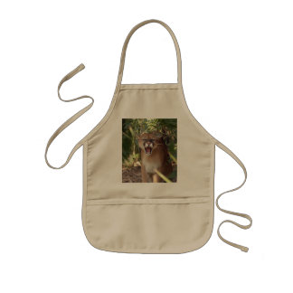 Cougar 001 kids' apron
