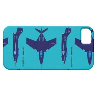 cougar airplane iPhone SE/5/5s case