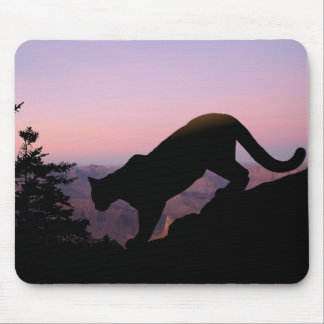 Cougar and the Grand Canyon Mouse Pad