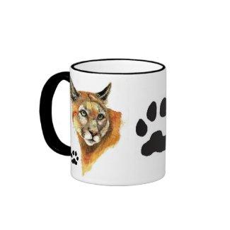 Cougar Animal Mug mug