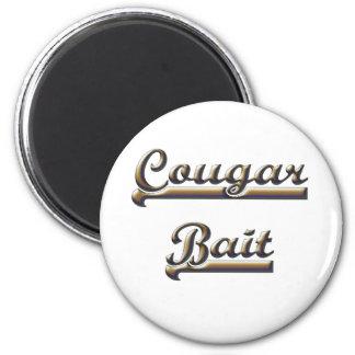 COUGAR BAIT 2 INCH ROUND MAGNET