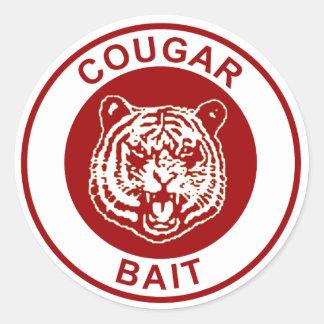 Cougar Bait Classic Round Sticker