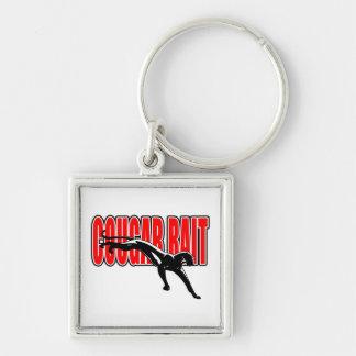 Cougar Bait. Fun design. Don't take it seriously. Key Chains