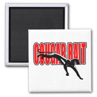 Cougar Bait. Fun design. Don't take it seriously. Magnet