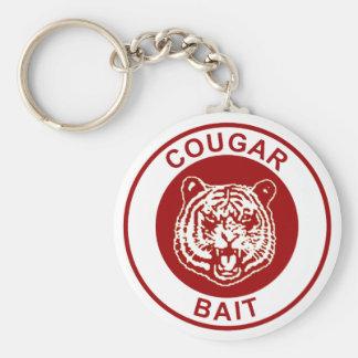 Cougar Bait Keychain