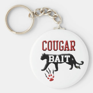 cougar bait keychains