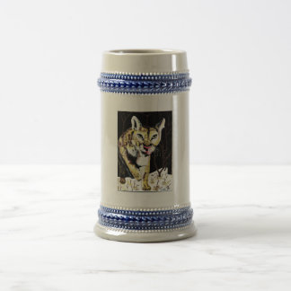 Cougar Beer Stein