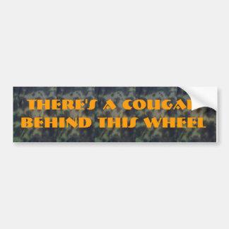 Cougar Car Bumper Sticker