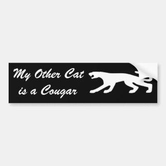 Cougar Cat V2 Bumper Sticker