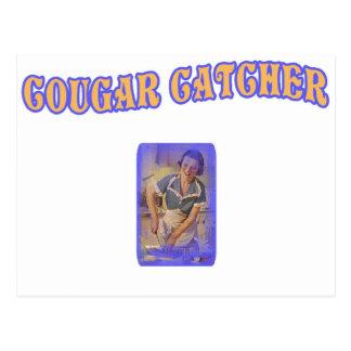 Cougar Catcher Postcard