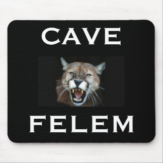 Cougar  CAVE FELEM, - Customized Mouse Pad