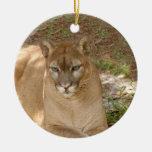 Cougar Christmas Ornament