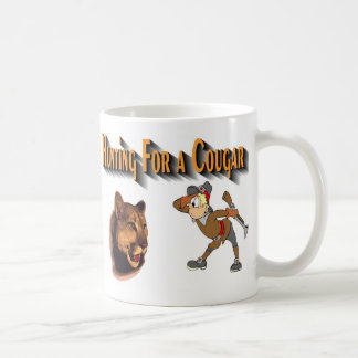 cougar classic white coffee mug