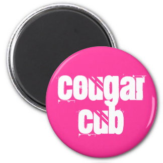 Cougar Cub 2 Inch Round Magnet
