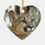 Cougar Cub Christmas Ornament
