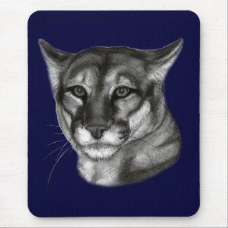 Cougar Drawing Mouse Pad