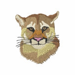 Cougar Embroidered Hooded Sweatshirt