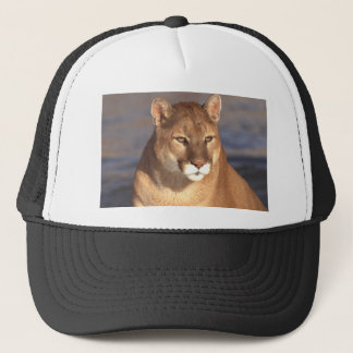 Cougar Face Trucker Hat