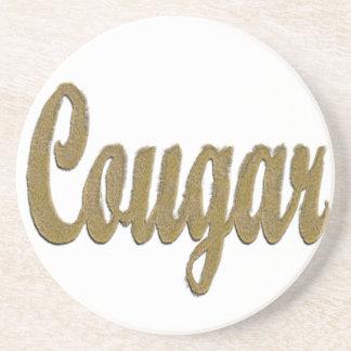 Cougar - Furry Text Coaster