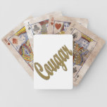 Cougar - Furry Text Deck Of Cards