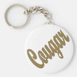 Cougar - Furry Text Keychain