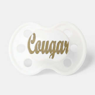 Cougar - Furry Text Pacifier
