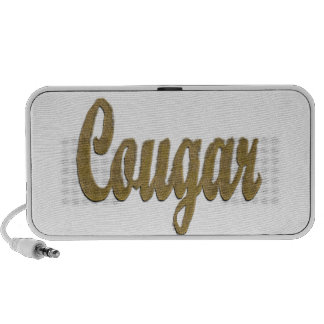 Cougar - Furry Text iPhone Speakers