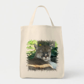 Cougar Grocery Tote Bag